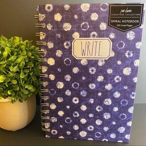 RAE DUNN Write Spiral Notebook